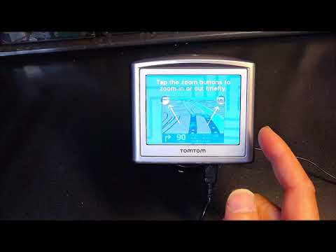 Tutorial On How To Operate A TomTom One 3rd Edition GPS Navigation System