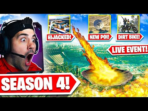 Warzone Season 4 is Now A NEW GAME! 🤯 First Win + Reaction!