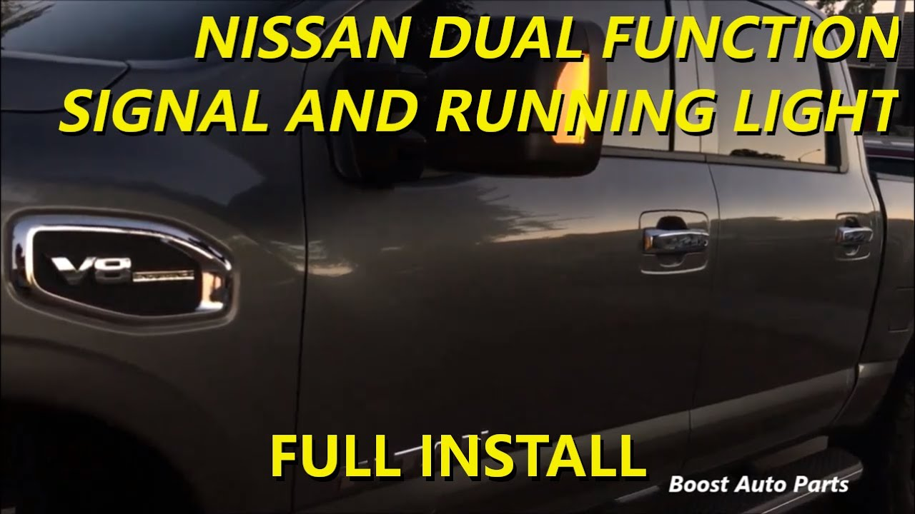 Dual Function Nissan Titan Wiring Harness (Running Light & Signal)