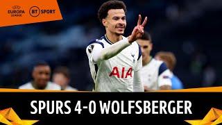 Tottenham v Wolfsberger (4-0) | Dele scores unbelievable bicycle-kick | Europa League Highlights