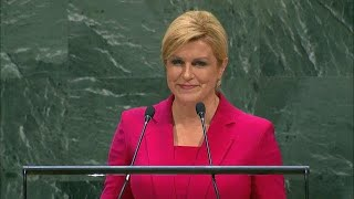 🇭🇷 Croatia - President Addresses General Debate, 74th Session