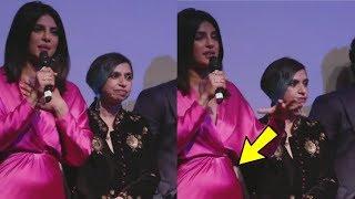 Priyanka Chopra's pregnancy CONFIRMED with her Baby Bump ...!