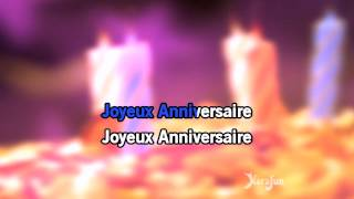 Karaoké Joyeux anniversaire - Happy Birthday Songs *