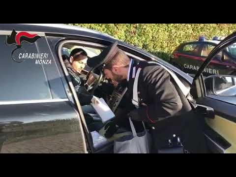 carabinieri Desio sequestro