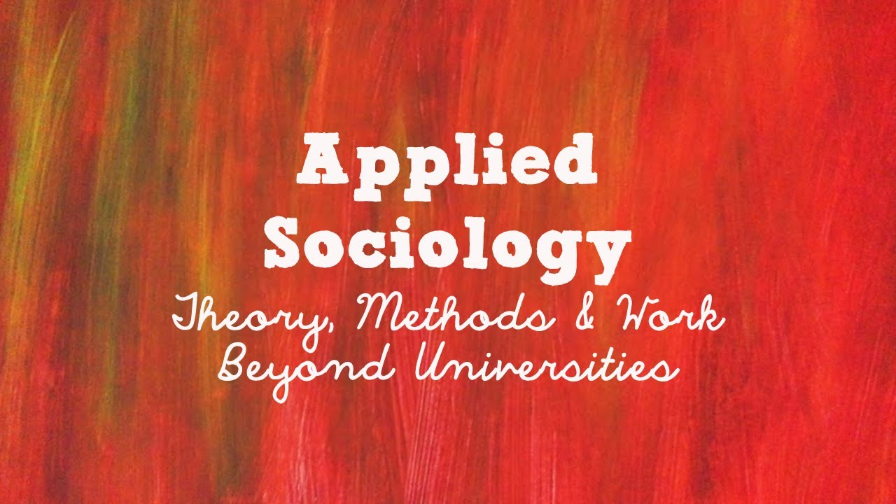 applying sociological theories Student study guide for criminological theories: introduction, evaluation, application sixth edition by ronald l akers and christine s sellers prepared by: eric see.