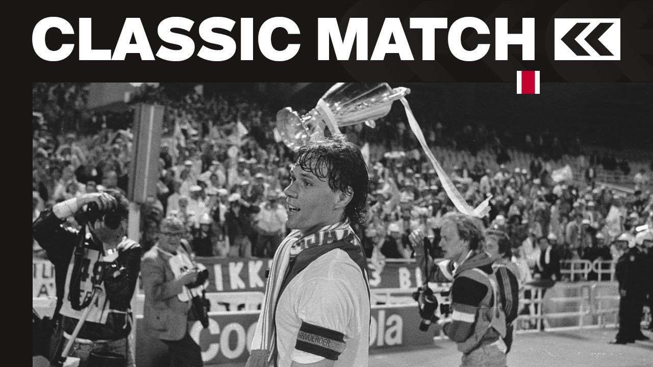 CLASSIC MATCH - Ajax - Leipzig 1-0   THANK YOU, MARCO   13-05-1987