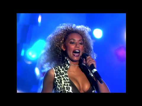 Spice Girls - Wannabe & Who Do You Think You Are [BRIT Awards 1997 Remastered]