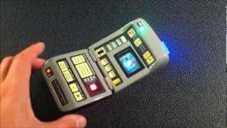 Star Trek: The Next Generation Mk VII Science Tricorder - hero prop replica