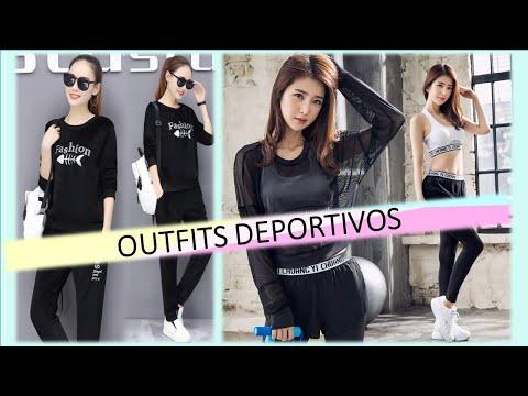 646270d72 OUTFITS DEPORTIVOS I MODA COREANA - YouTube