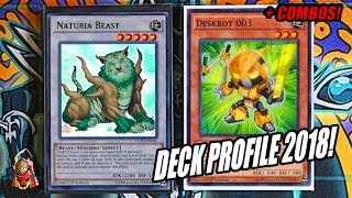 *YUGIOH* DESKBOT OTK DECK PROFILE! FEBRUARY 2018 BANLIST! + 2 CARD COMBO! NAT BEAST GG! (March 2018)