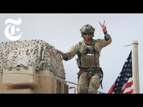 U.S. Troops Are Leaving Syria, Here's What It Looks Like | N