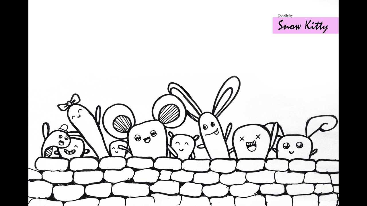 Hello Doodle  simple easy doodle art  YouTube