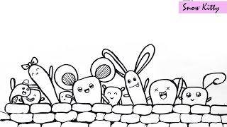 doodle easy simple hello