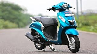 Yamaha fascino New colors and Walkaround HD video