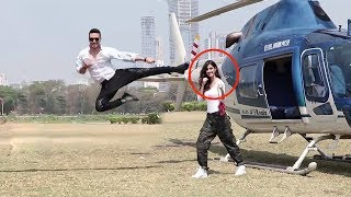 Tiger Shroff's Amazing Stunt With Disha Patani For Baaghi 2 Promotions thumbnail