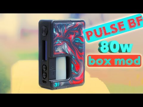 The Pulse BF 80 Watt Mod By Vandy Vape!