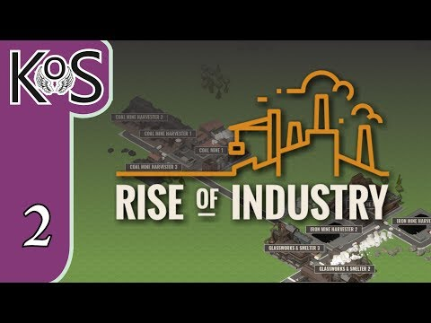 Rise of Industry Ep 2:  - BRANDY, WINE & THE DELI!PRESS ALPHA! - Let's Play, Gameplay