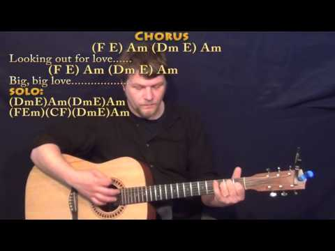 Big Love (Fleetwood Mac) Strum Guitar Cover Lesson in Am with Chords/Lyrics