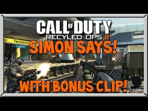 Black Ops 2 Simon Says - & Funny Momments w/ Subs (BONUS CLIP)