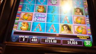 White Orchid SUPER BONUS**3***RE TRIGGERS Max Bet $12 00