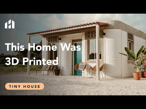 3D Print A $4000 Tiny Home - (In Under 24 Hours)