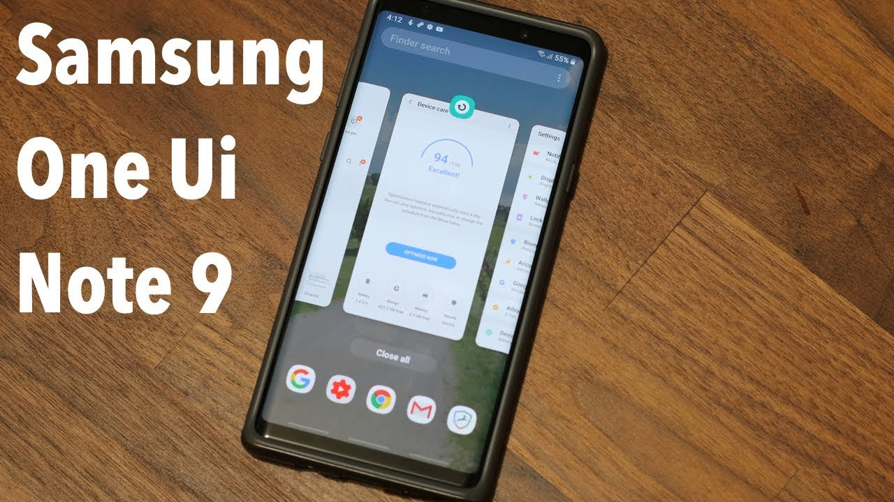 Samsung One UI on Galaxy Note 9 (Android 9 0 Pie) - After 1 Month