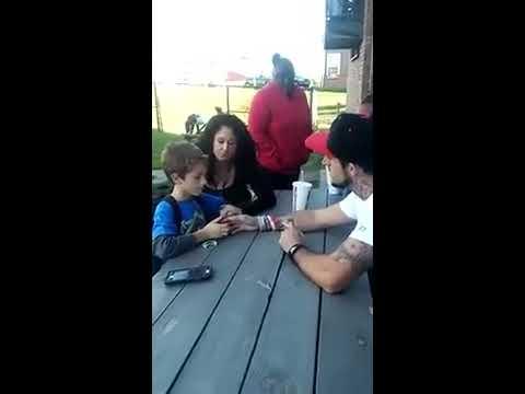 RAW VIDEO: Dad tells Son, his Mom died of Heroin Overdose / Brenden Bickerstaff-Clark