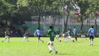 華仁 香港 vs聖若瑟書院 2013 10 6 d1學界足球甲組 精華