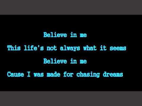 Believe- Staind (Lyrics)