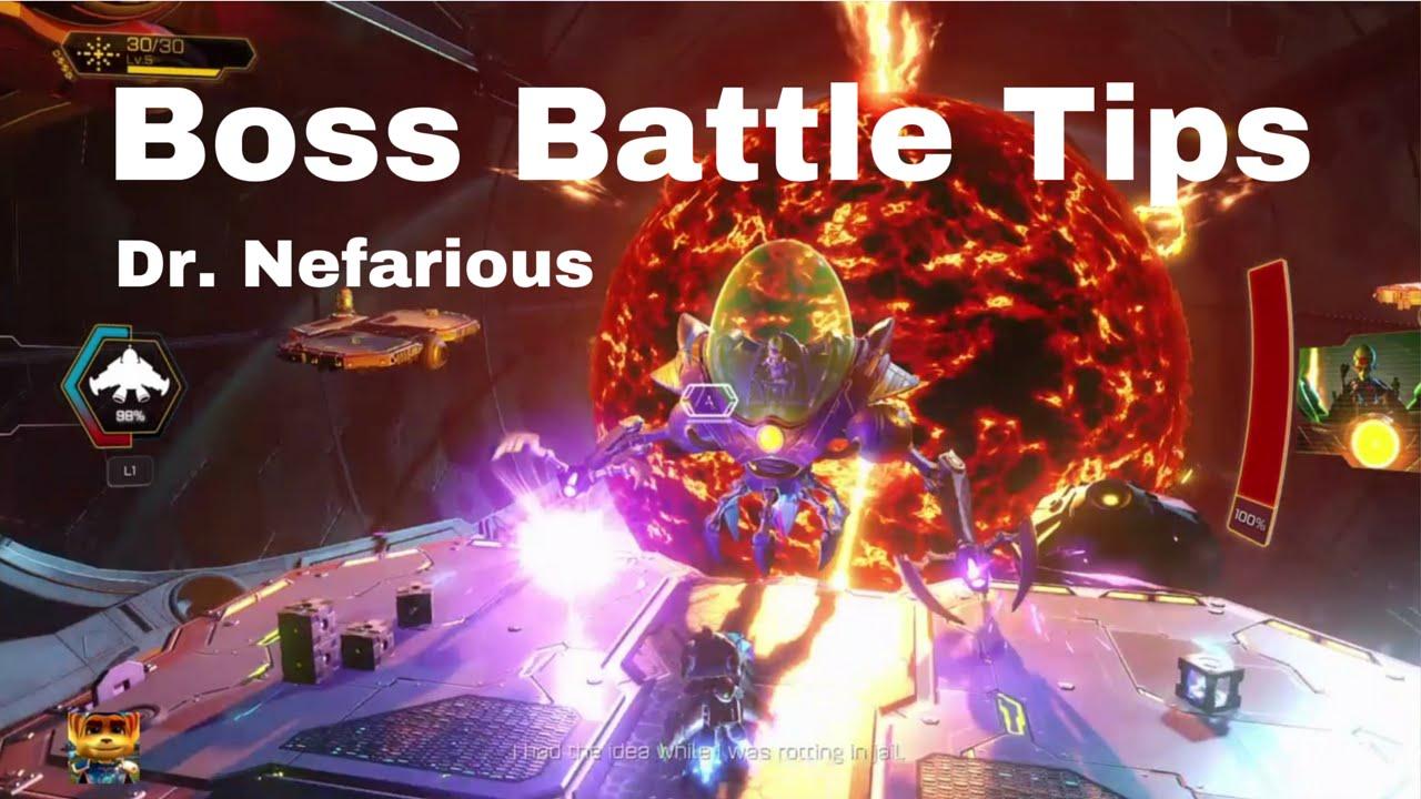 Ratchet Clank Dr Nefarious Boss Battle Tips Final