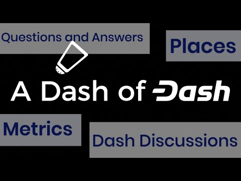 Dash cryptocurrency proof of work
