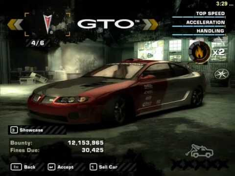 Need For Speed Most Wanted Gameplay My Cars Sprint Race Pc Youtube