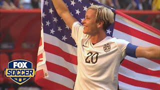 Abby Wambach on World Cup win: 'This isn't real life'