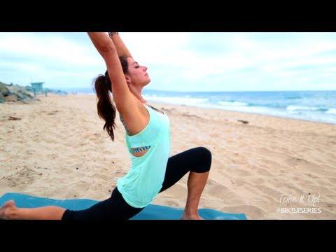 Beach Yoga with Karena - Tone It Up!