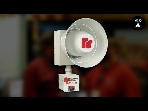 Federal Signal @ TENA 2013: School Lockdown & Tornado Siren Systems