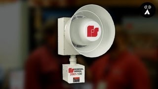 Federal Signal @ Tena 2013: School Lockdown & Tornado Siren Systems