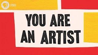 You Are An Artist (a pep talk + book!)