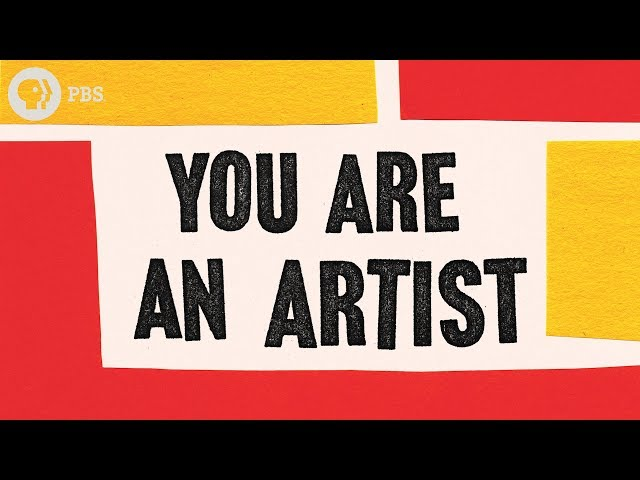 You Are An Artist (a pep talk + book!)