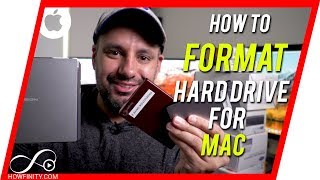 How to FORMAT External Hard Drive for MAC