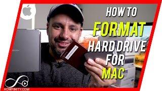 So FORMATIEREN Sie die Externe Festplatte für MAC