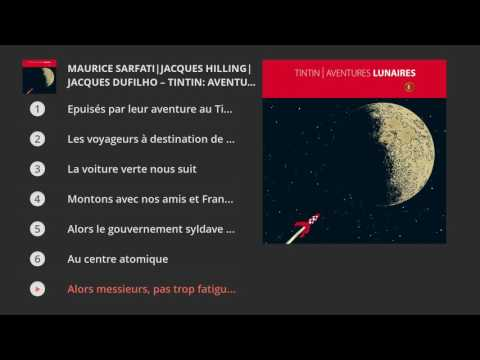 Tintin: Aventures lunaires-Maurice Sarfati, Jacques Hilling, Jacques Dufilho