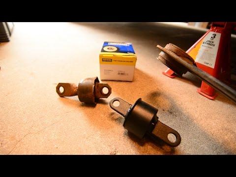07 Mazda 3 Rear Trailing Arm Bushing Repair