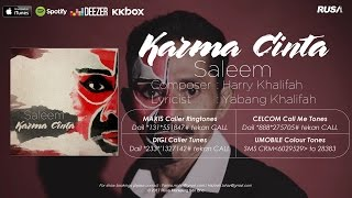 Saleem Karma Cinta Official Lyrics Video