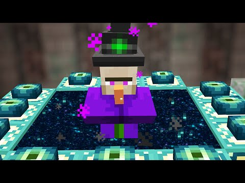 Beating Minecraft But I'm a Witch...