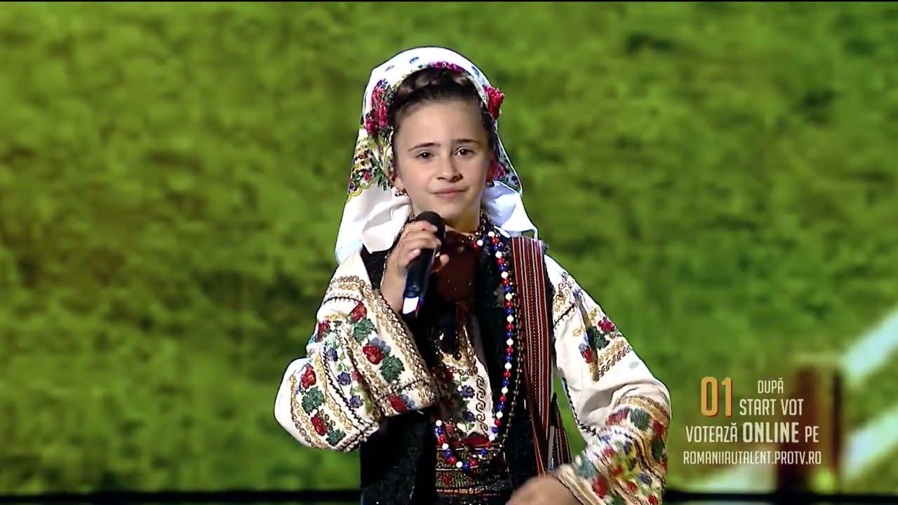 Românii au talent 2021: Semifinala 1 (prestație) – Narcisa Ungureanu - solist vocal