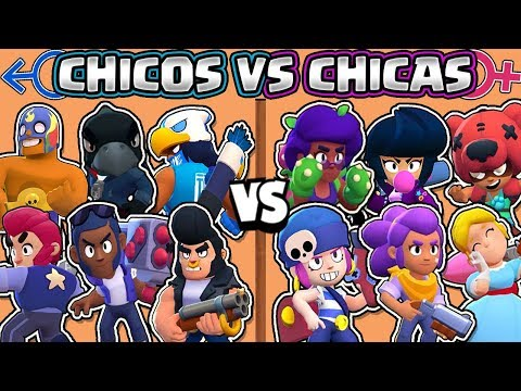 CHICOS VS CHICAS | CUAL ES MEJOR? | OLIMPIADAS de BRAWL STARS | Girls vs Boys