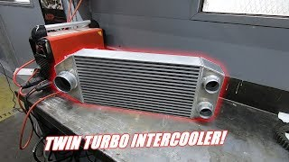 1200hp Intercooler For The Twin Turbo Mr2 Is Ready!