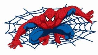 Как нарисовать человека паука(А вы знаете как быстро и просто нарисовать человека паука? Тогда смотрите видео и научитесь. Делитесь видео..., 2016-05-07T16:15:32.000Z)