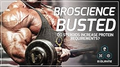 Broscience Busted: Do Steroids Increase Protein Requirements