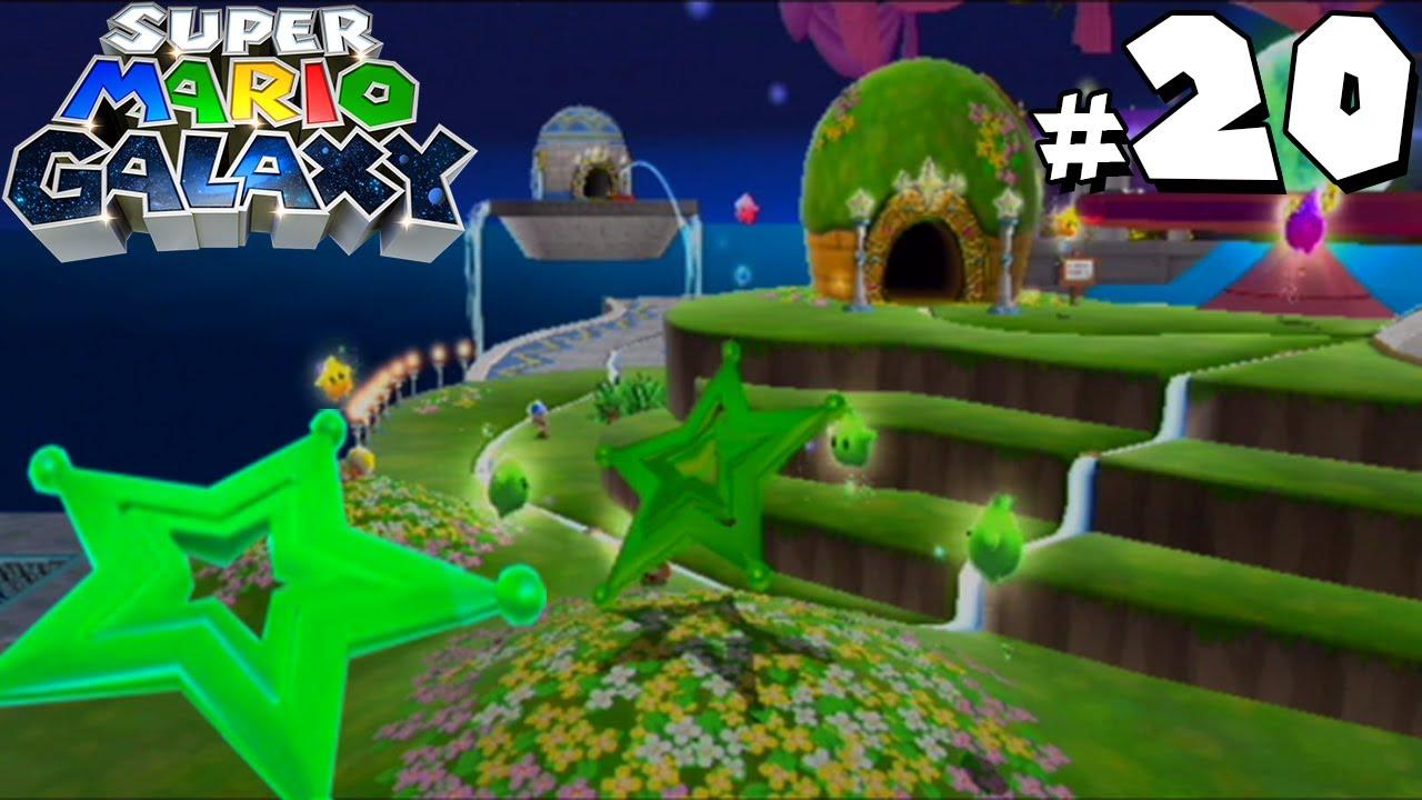 Super Mario Galaxy - Gameplay Walkthrough - Bedroom Secret ...
